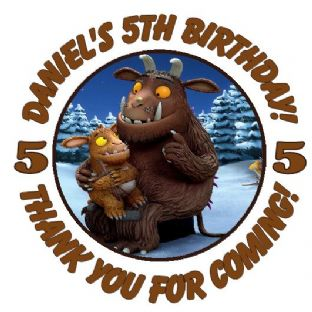 Personalised Gruffalo Party Stickers